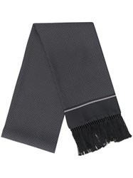 Dolce And Gabbana Printed Fringed Scarf 60