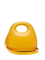 Christophe Lemaire Egg Smooth Leather Bag Yellow