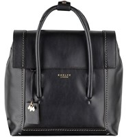 Radley Boundaries Medium Leather Backpack Black