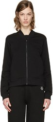 Kenzo Black Embroidered Tiger Zip Up Pullover