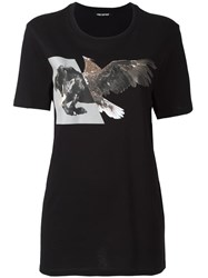 Neil Barrett 'Horse Eagle' T Shirt Black