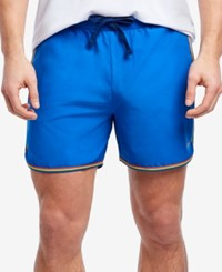 2Xist 2 X Ist Men's Rainbow Pride Jogger Shorts Blue