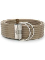 Givenchy Double Ring Belt Neutrals
