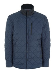 Victorinox Bernhold Quilted Jacket Blue