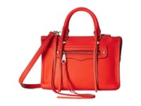 Rebecca Minkoff Micro Regan Satchel Poppy Red Satchel Handbags