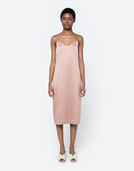 Achro Slip Dress In Camel