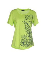 Escada Sport Topwear T Shirts Women Light Green