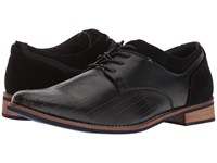 Deer Stags Calgary Black Simulated Leather Shoes