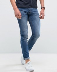 Loyalty And Faith Manor Skinny Fit Jeans In Mid Wash Blue
