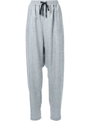 Strateas Carlucci Baggy Trousers Grey