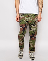 Denim And Supply Ralph Lauren Climbing Trousers In Camo