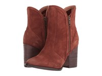 Seychelles Lori Penny Cognac Suede Women's Dress Boots Brown
