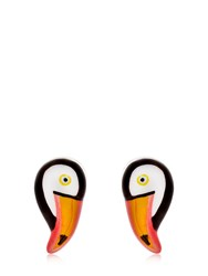 Nach Mini Toucan Stud Earrings Multicolor