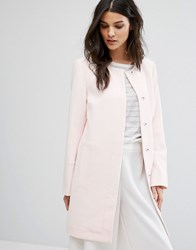 Selected Femme Vento Coat Heavenly Pink