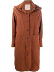 Tela Qwait Oversized Hooded Coat 60