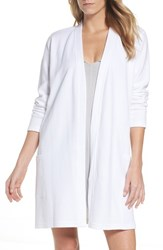 Naked Women's Short Robe White