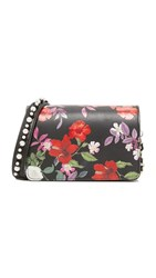 Mother Of Pearl Jude Cross Body Bag Black Floral