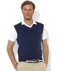 Polo Ralph Lauren Sweater Vest Core Solid Sweater Vest Nwt Nvy