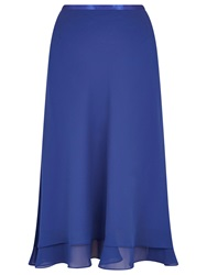 Jacques Vert Double Layer Skirt Blue