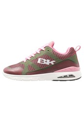British Knights Energy Trainers Olive Pink