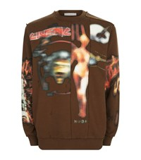 Givenchy Cuban Heavy Metal Sweater Male Brown