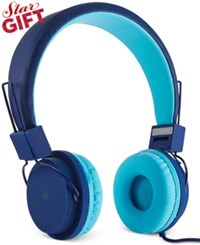 Polaroid Foldable Headphones Blue