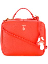 Mark Cross 'Laura' Tote Red