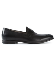 Pantanetti Classic Penny Loafers Black