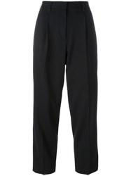 Etro Tailored Cropped Trousers Black