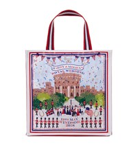 Harrods Small Royal Wedding Windsor Shopper Bag Multi