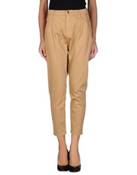 Met And Friends Denim Pants Camel
