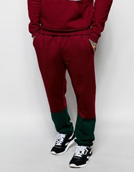 American Apparel Colour Block Joggers Yorkshirered