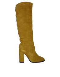 Love From Australia Tall Heeled Classic Leather Boots Tan