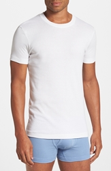 2Xist Pima Cotton Crewneck T Shirt White