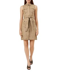 Hobbs London Becca Safari Dress Tawny
