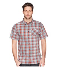 United By Blue Whithorn Plaid Button Down Red Clothing