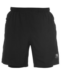 Karrimor X 2 In 1 Running Shorts From Eastern Mountain Sports Black Black