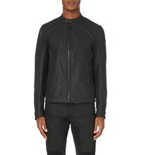 Belstaff Grandsdale Waxed Denim Jacket Black