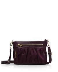 M Z Wallace Mz Paige Crossbody Purple Gold