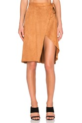 Finders Keepers High Time Skirt Tan
