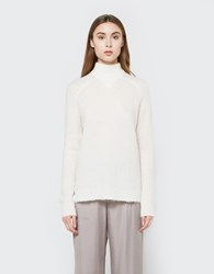 Just Female Potter Knit In Off White Off White