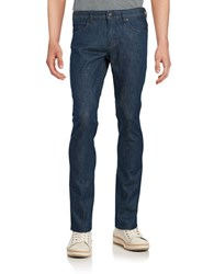 Hugo Boss Straight Leg Jeans Navy Blue