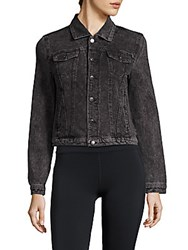 Marc New York Long Sleeve Cropped Jacket Black