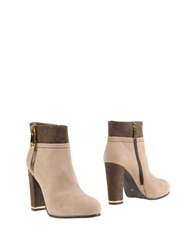 Tiffi Ankle Boots Beige