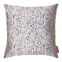 Clarissa Hulse Garland Cushion 45X45cm Putty Midnight Silver