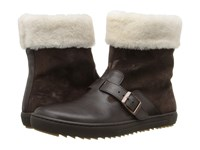 Birkenstock Stirling Brown Leather Women's Boots