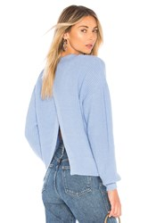 Lovers Friends Joan Sweater Baby Blue