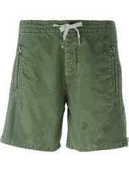 Ermanno Scervino Drawstring Shorts Green