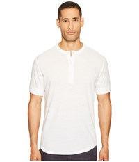 Jack Spade Linen Henley White Men's Clothing