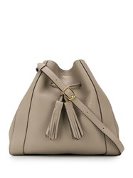 Mulberry Millie Drawstring Small Tote Grey